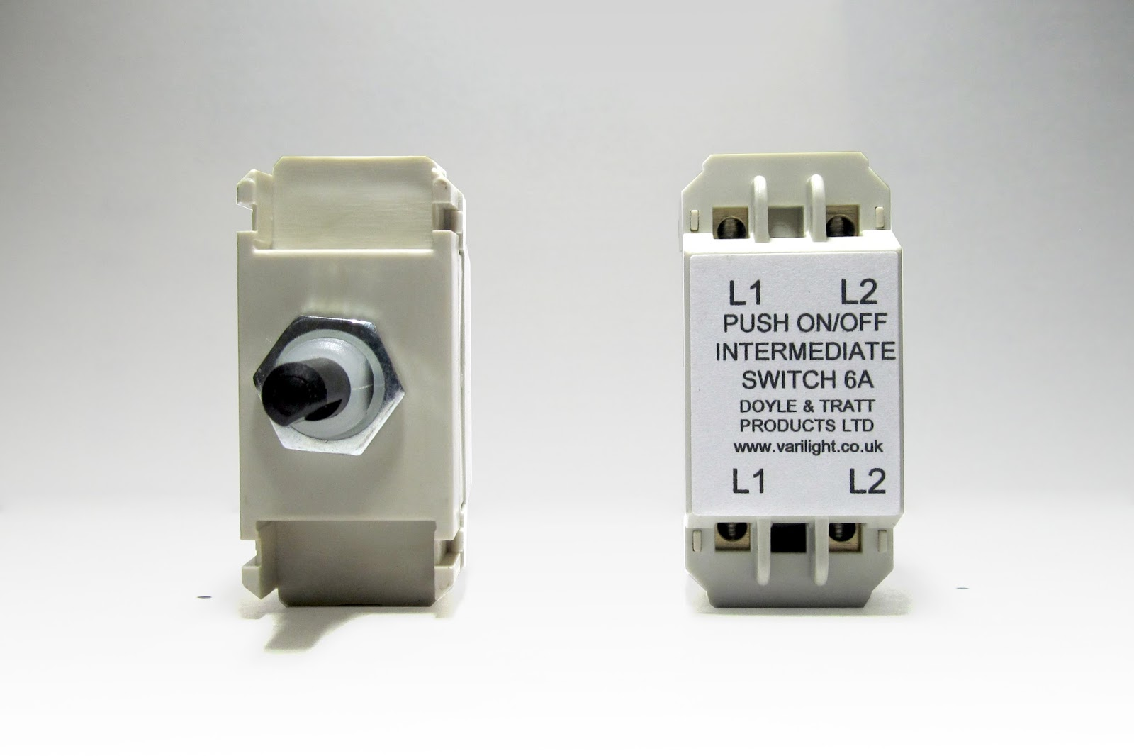 Welcome to the VARILIGHT News Page: Intermediate Push On/Off Switch