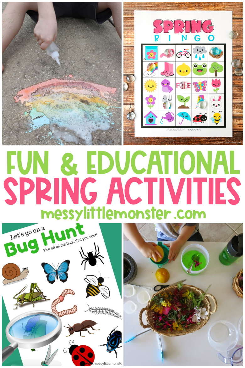 Fun and educational spring activities for kids