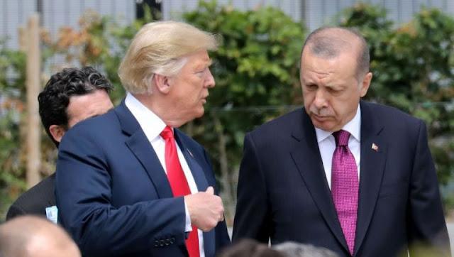 Νέα προσπάθεια Τραμπ για «μπλόκο» σε κυρώσεις εναντίον της Τουρκίας