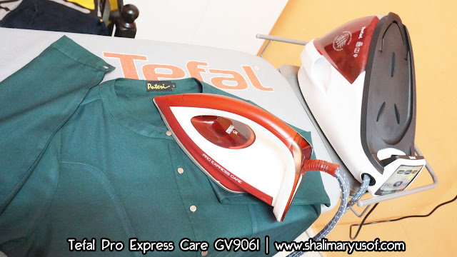 Review Iron Steam Jenama Tefal | 15 Kelebihan Steam Generator Pro Express Care  GV9061