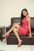 Shipra Gaur in Pink Short Micro Mini Tight Dress ~  Exclusive 042.JPG