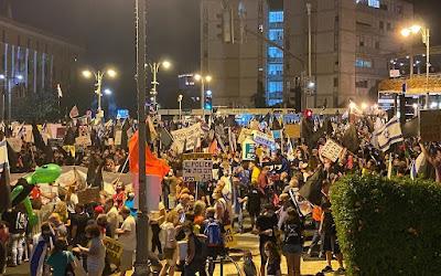 Likud afirma que a acusação encoraja 'anarquia violenta' com posição sobre os protestos