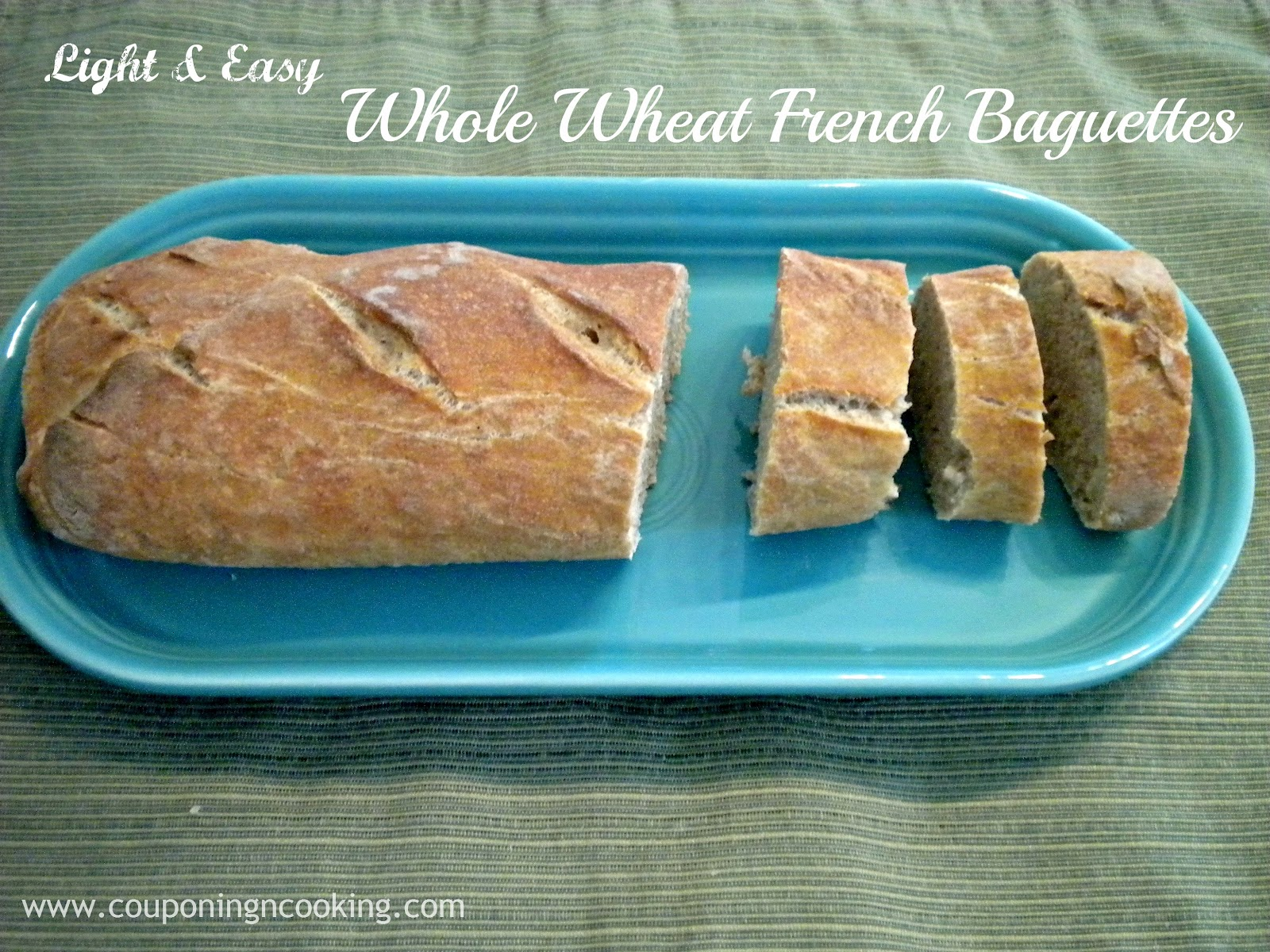 Tobins' Tastes: Homemade Bread Challenge: Whole Wheat Baguettes