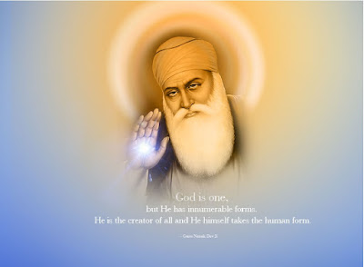 Message By Guru Nanak Dev Ji . Happy Gurupuab to all