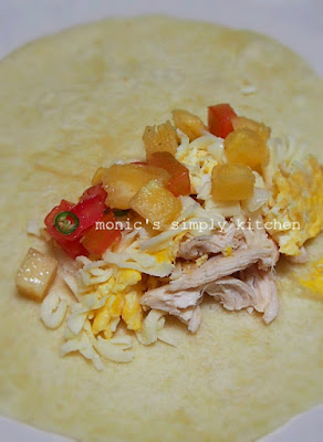 membuat burritos homemade