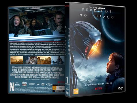 Capa DVD Perdidos no Espaço (2018) - 1ª Temporada [Custom]