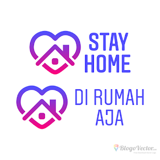 Stay Home Logo vector (.cdr)