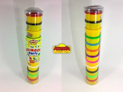 Fun-Doh Rainbow Multi Colour, fun doh indonesia, fun doh surabaya, distributor fun doh surabaya, grosir fun doh surabaya, jual fun doh lengkap, mainan anak edukatif, mainan lilin fun doh