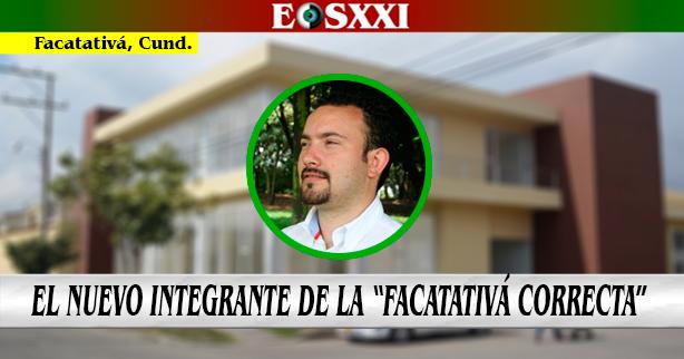 Óscar Giovanni Ramírez Zárate es el nuevo secretario de Gobierno de Facatativá