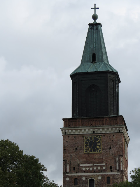Finland road trip itinerary: Tower of Turku Cathedral