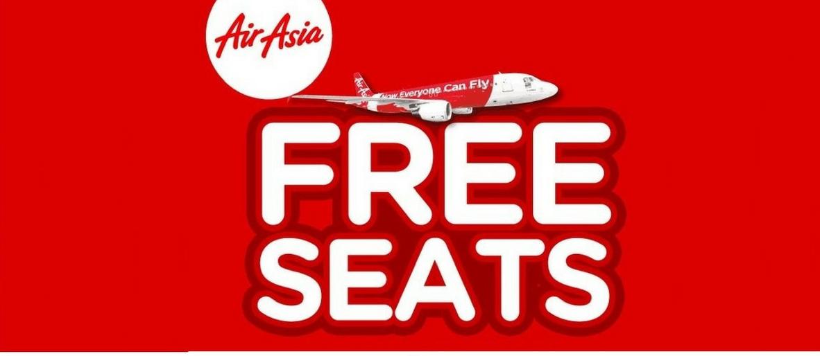 AirAsia Free Seats又来了