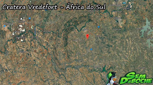 Cratera Vredefort - África do Sul