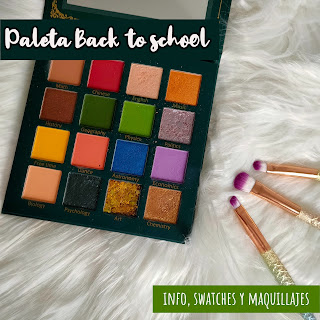 Paleta Back to school de UCANBE