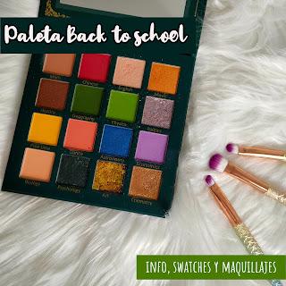 Paleta Back to school de UCANBE