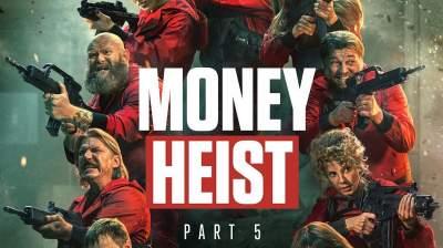 Money Heist 2021 Web Series Season 5 Hindi English Telugu Tamil 480p