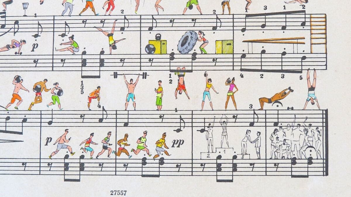 12-CrossFit-Lyapunov-and-Erlich-Music-Sheets-Colored-Illustrations-www-designstack-co