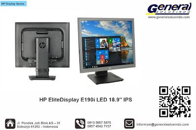"""HP EliteDisplay E190i LED 18.9"""" IPS"""