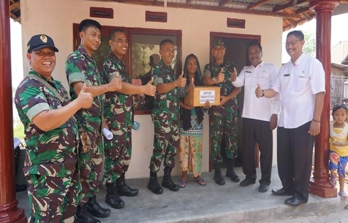 RUTILAHU DI PASURUAN, WUJUD SINERGI TNI DAN PEMERINTAH