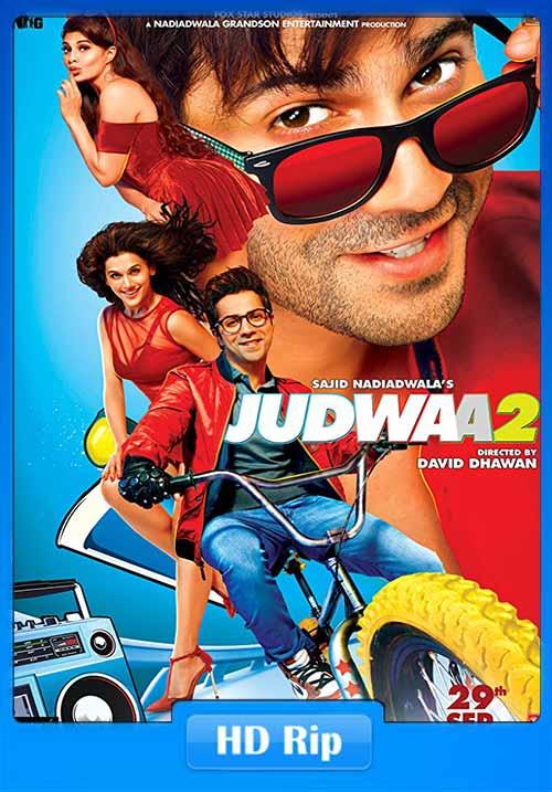 Judwaa 2 2017 Hindi 720p HDRip 900MB Free Download