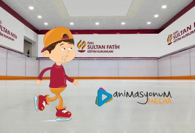sultan fatih okul animasyon