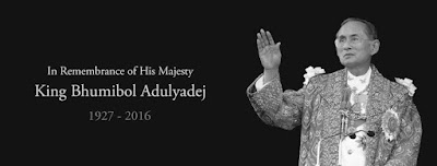 In remembrance of His Majesty King Bhumibol Adulyadej