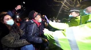 بريطانيا تتجه لتشديد قواعد حق الاحتجاج