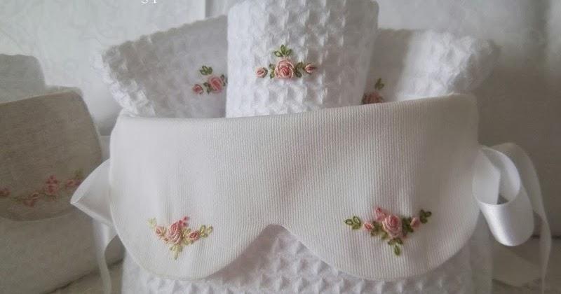 Lavanda e lill cestini da bagno con lavette - Cestini da bagno ...