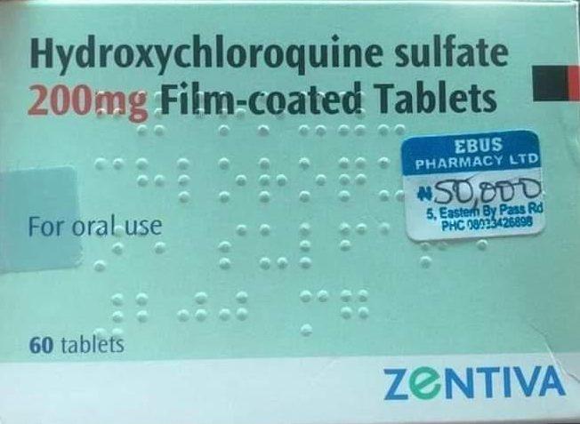 COVID-19: Nigerian drug stores hike hydroxychloroquine price to N50,000