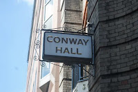 Conway Hall sign