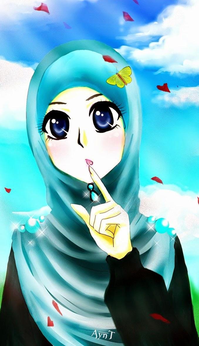 Amalia Blog Kumpulan Gambar Animasi Muslimah