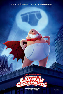 Captain Underpants International Poster