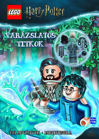 Lego Harry Potter - Varázslatos titkok (Feladványok, Minifigura)