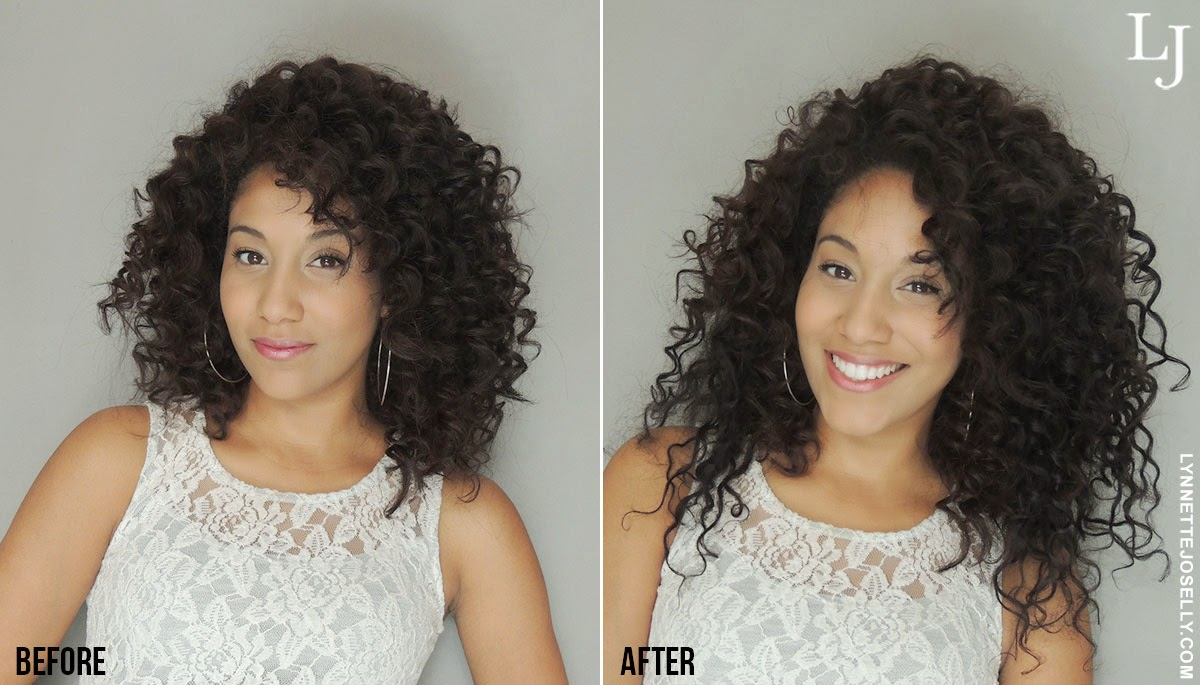 Lynnette Joselly The Secret Behind My Big Curly Hair