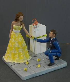 cake topper personalizzati indagine gattino sposo divisa lombardia orme magiche