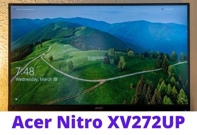 Conclusion Acer Nitro XV272UP