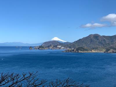 岩地付近の富士見スポット