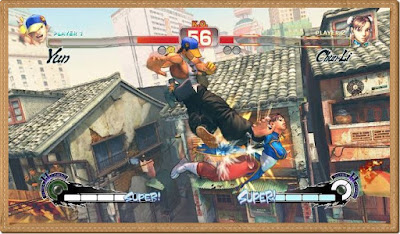 Super Street Fighter 4 Games Screenshots