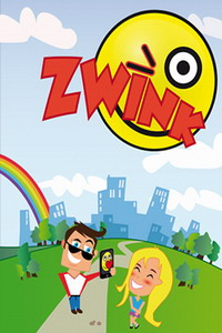 Zwink iPhone app features animated expressions designed for any situation