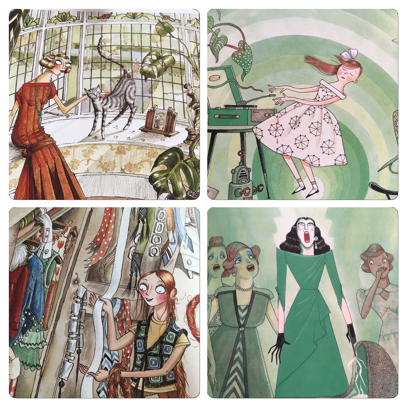 The mid century modern style is hugely popular right now and rightly - Chosen For Its Quirky Brilliance And Beautiful Period Illustrations Re Inventing A Classic Tale In Mid Century Style And With A Refreshing Feminist Twist