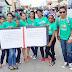 #Fotos Iglesia Cristo Para Todos realiza marcha por el mes de la Biblia