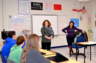 State Senator Rausch met with both students and faculty to learn more about the career programs