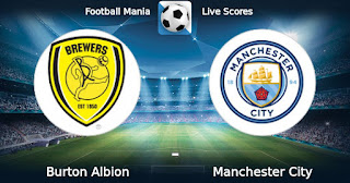 Бёртон Альбион – Манчестер Сити прямая трансляция онлайн 23/01 в 22:45 по МСК.