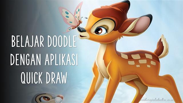Belajar Doodle Dengan Aplikasi Quick Draw