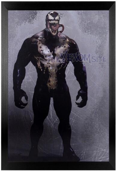 The Venom Site Exclusive Venom 2018 Movie Concept Art