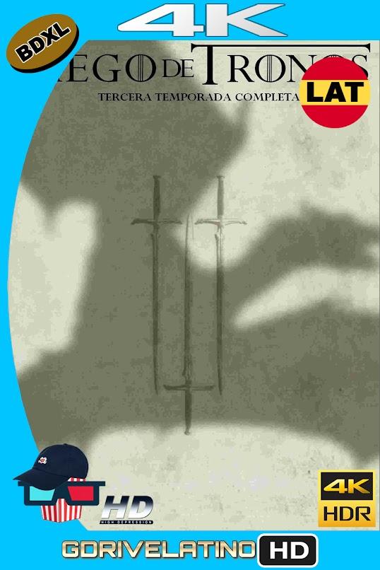 Juego de Tronos Temporada 03 (2013) BDXL 4K UHD HDR DV Latino-Ingles ISO