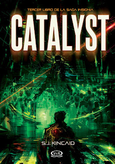 "Reseña: ""Catalyst"" - S. J. Kincaid"