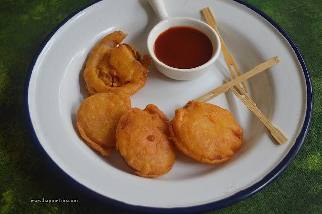 Onion Bajji Recipe | Vengaya Bajji