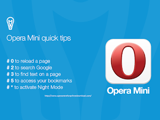 Features of  Opera Mini for PC