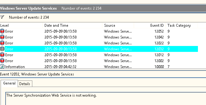 Another SCCM Blog: Windows Updates failed 0x80244022