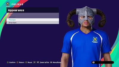 """PES 2021 Faces """"Viking"""" Thiago Silva by DNB"""